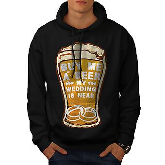 Beer Wedding Party Men BlackHoodie | Wellcoda