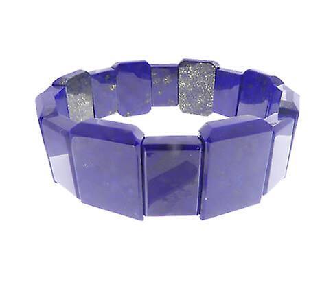 Lapis lazuli bracelet rectangular