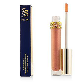 Stila Magnificent Metals Lip Gloss - # Rose Quartz - 3.3ml/0.11oz