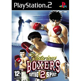 Victorious boxers 2 (PS2)-fabriek verzegeld