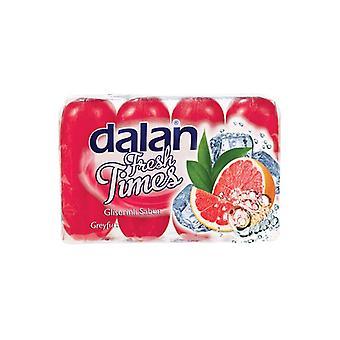 Dalan Verse Tijden Glycerine Zeep Grapefruit 4x90g