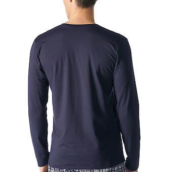 Mey 46520 Men's Dry Cotton Solid Colour Long Sleeve Top