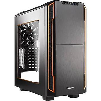 BeQuiet בסיס שקט 600 חלון Midi מגדל משחק מעטפת מחשב תפוז, שחור