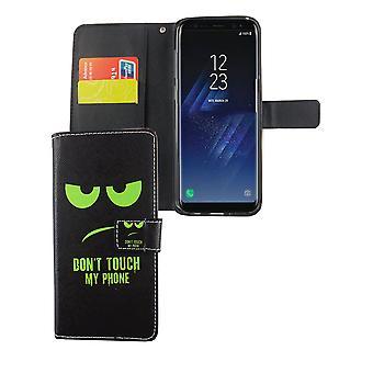 Mobiltelefon tilfælde pose til mobil Samsung Galaxy S8 + plus ikke røre min telefon grøn