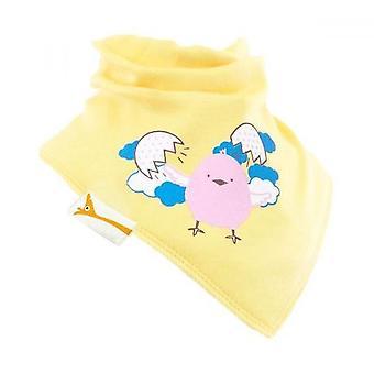 Gula chick frihet bandana bib
