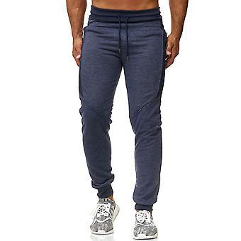 Mens Jogging Pants Training Sport Trousers Fitness Sweat Pants Stretch Waistband