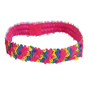 Stirnband Rainbow bunt Regenbogen Accessoire