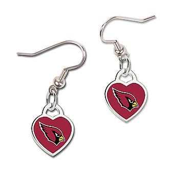 Wincraft dames 3D hart oorbellen - NFL Arizona Cardinals