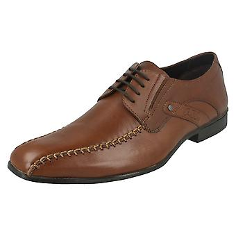 Mens Spot On Formal Lace Up Shoes