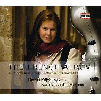 Franck/Debussy/Faure/Offenbach - The French Album [CD] USA import