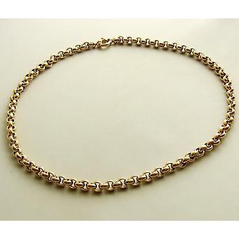 14 carat gold jasseron necklace