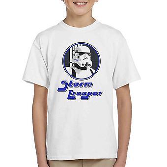 Original Stormtrooper 70s Retro Kid's T-Shirt
