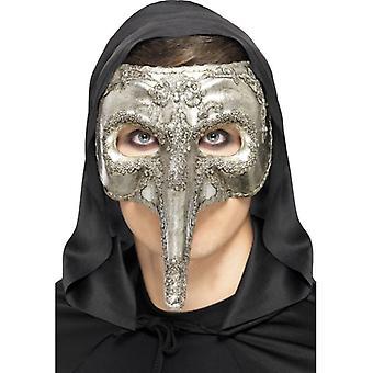 Luxury Venetian Capitano Mask