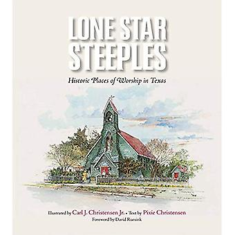 Lone Star torens: Historische plaatsen van aanbidding in Texas (Clayton Wheat Williams Texas Life)