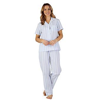 Jeu de Slenderella PJ3223 féminin tissé pyjama Pyjama