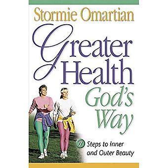 Manera de Dios de salud mayor
