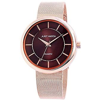 Just Watches JW6147-BR-men's wristwatch, mixed, color: pink gold