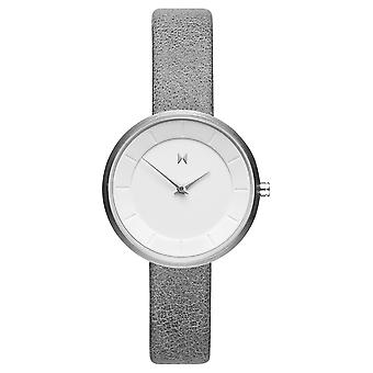 MVMT MOD M1 Women's Watch wristwatch leather FB01-SGR