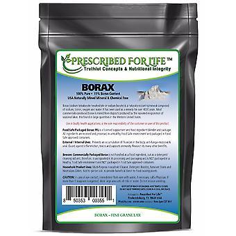 Borax - All Natural Sodium Borate 10 mol Mineral Granular Powder 40-200 Mesh