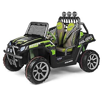 Peg Perego Polaris Ranger RZR 24V Kids Electric Jeep Green Shadow