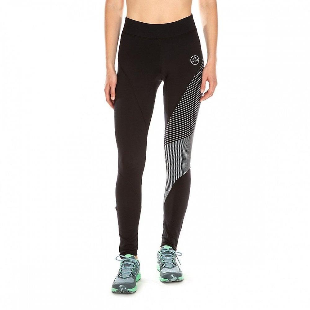 La Sportiva Supersonic Womens Winter Trail Running Tights Black/slate