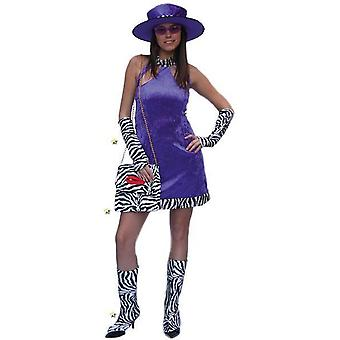 Women costumes  Costume Disco Lady Purple