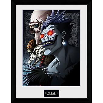 Death Note Shinigami inramade Collector Print 40x30cm