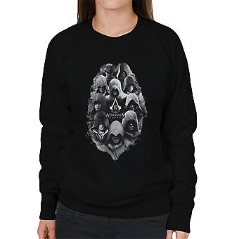 Assassins Creed 10 Years Of Characters Women's Sweatshirt