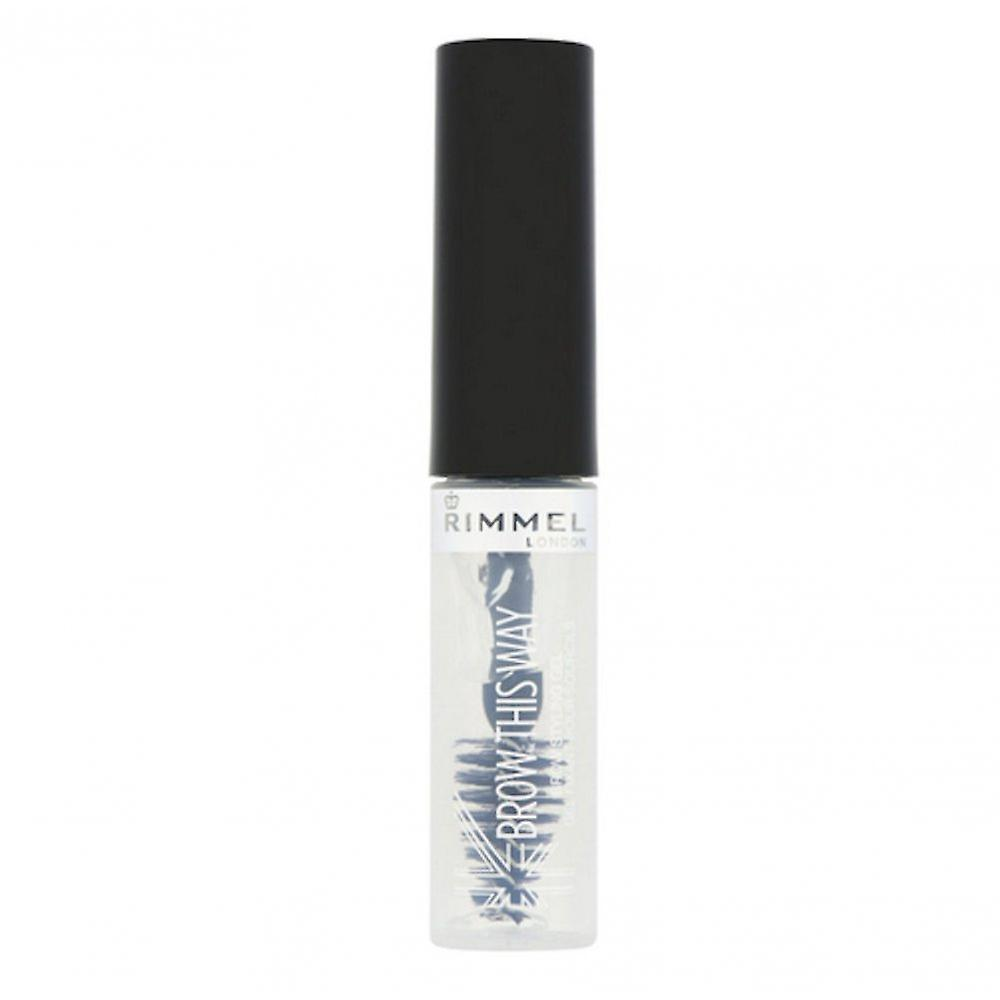 Rimmel Brow This Way Brow Styling Gel Mascara - 004 Clear