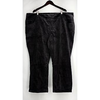 Denim et Cie Petite Pantalon 28WP et Comment Lisse-quot; Pull On Stretch Gray A294470