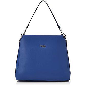 Trussardi Jeans Berry Hobo Blue Women's Shoulder Bag (Bluette) 39x29x13 cm (W x H x L)