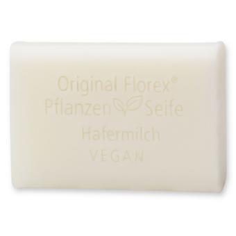 Florex Vegan Vegetable Oil Soap - Oat Milk - Creamy Oils Pamper and Care for The Skin 100 g