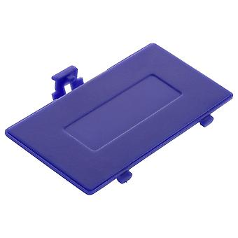Replacement battery cover door for nintendo game boy pocket  / purple