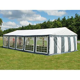 Marquee Original 4x10 m PVC, Grey/White