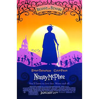 Nanny Mcphee (Double-Sided Regular) (Uv Coated/High Gloss) Poster originale del cinema