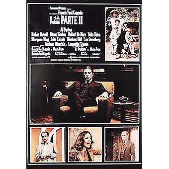 Der Pate Teil 2 (Ii 11) (italienische Nachdruck) Nachdruck Poster