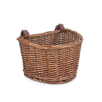 Child's Bicycle Wicker Basket