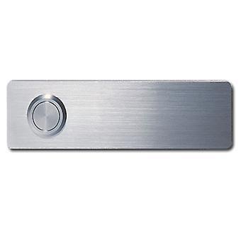 Dzwon drzwi Serafini push płyta 3.5 x 12.5 x 0,3 cm