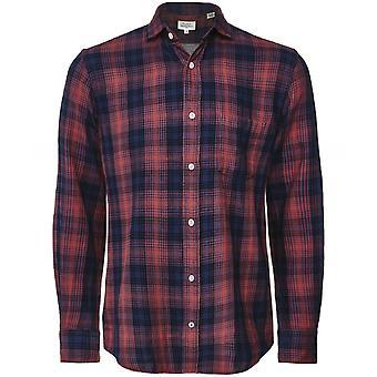 Hartford regular fit Flanel check Paul shirt