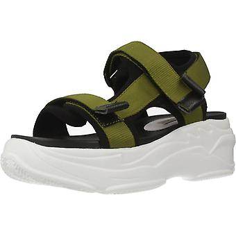 Movie's Sandalias F11 01  Color Green