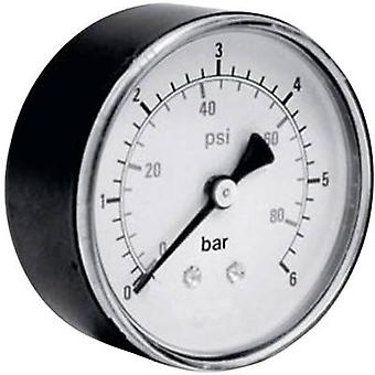ICH Manometer 306.63.10 Connector (pressure gauge): Back side 0 up to 10 bar External thread 1/4 1 pc(s)