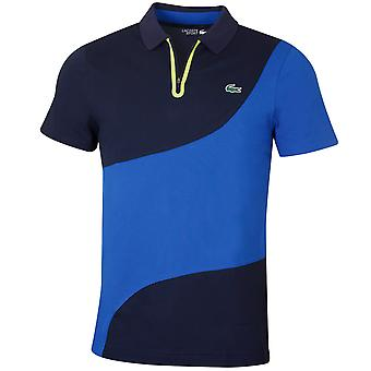 Lacoste Mens Ribbed Collar Golf Polo Shirt