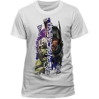 Thor: Adultos Ragnarok Unisex Adultos Split T-Shirt