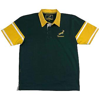 South Africa Rugby Springboks Men's Short Sleeved Rugby Shirt | 2019/20 Season