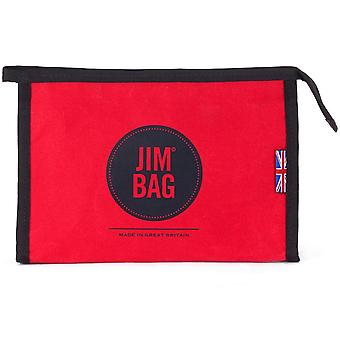 JIMBAG Red Travel Sports Wash Bag