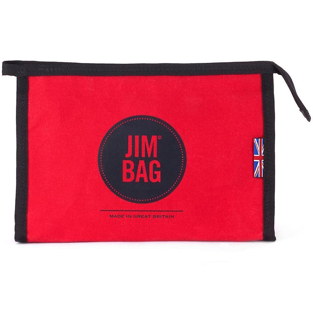 JIMBAG Red Travel Sports Wash Bag