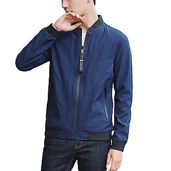 Allthemen Men&s Kurtka Thin Zipper Casual Bomber Jacket