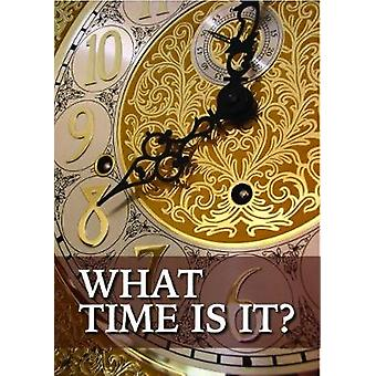What Time is it? by Mathew Bartlett - 9781912120697 Book