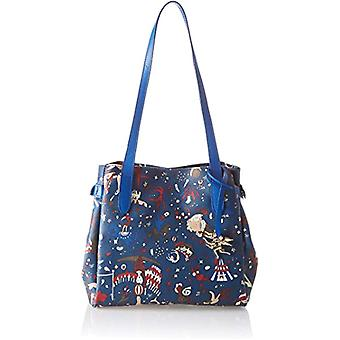 piero drive 210484038 Blue Women's Tote Bag (Bluette) 27x24x16 cm