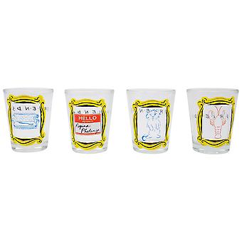 Amis 4-Piece Shot Glass Set